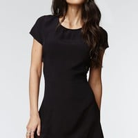 Kendall & Kylie Fit & Flare Cutout Dress - Womens Dress - Black