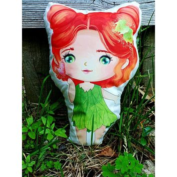 Baby Poison Ivy Pillow Pal.