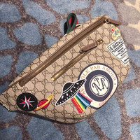 Gucci Courrier GG Supreme belt bag
