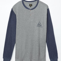 Obey Angle Long Sleeve Henley T-Shirt at PacSun.com