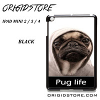 New Design Funny Hilarious Pug Life Parody Fans For Ipad Mini 2 Ipad Mini 3 Ipad Mini 4 Case Please Make Sure Your Device With Message Case UY