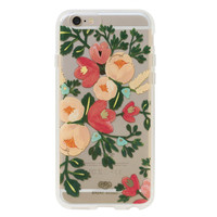 Clear Peach Blossom iPhone Case