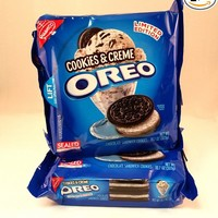 Limited Edition Cookies & Creme Oreo Cookies (2 Pack)