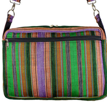 Kente Laptop Bag - African Computer Bag - Ghanaian Fashion