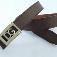 Cheap D&G Dolce & Gabbana Genuine Leather belts woman's and men's Business Waistband Belt Luxury Casual fashion Belt sale-8433683