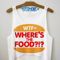 Where's the Food Crop Top | fresh-tops.com