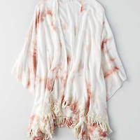 Don't Ask Why Tie Dye Kimono , Just Rosey