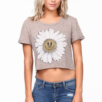 Smiling Daisy Crop Top - LoveCulture