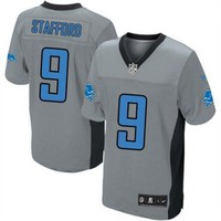 DCCK Detroit Lions Jersey - Grey Shadow Game Jerseys - Several Players