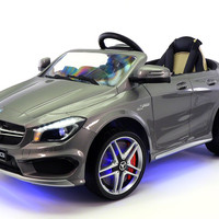 MERCEDES BENZ CLA45 RIDE-ON TOY CAR WITH PARENTAL REMOTE | GREY