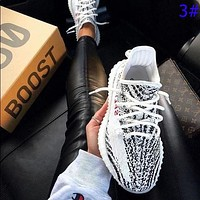 ADIDAS 350 Yeezy V2 Boots Fashion Coconut Shoes Starry Sports Leisure Breathable Running Shoes