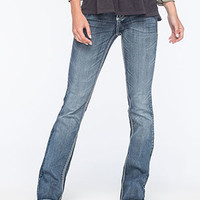 AMETHYST JEANS Lure Stitch Womens Bootcut Jeans