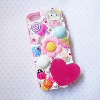 kawaii phone case, kawaii hello kitty phone case, kawaii iphone 5 case, cute iphone 5s case, iphone 5 case, hello kitty iphone 5 case