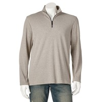Apt. 9 Modern-Fit 1/4-Zip Textured Pullover