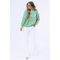 Always Here Sweater: Sage