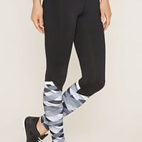 Active Print-Paneled Leggings
