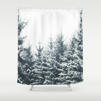 In Winter Shower Curtain by Tordis Kayma