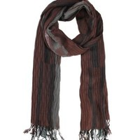 Modadorn Elongated Checkered Brown Scarf Women's fashion, clothing & accessories
