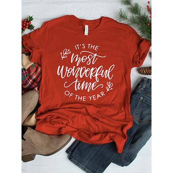 Wonderful Time of Year Tee