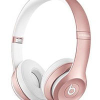 Beats by Dr Dre Solo2 Solo 2 Wireless On-Ear Headphones Rose Gold MLLG2PA/A