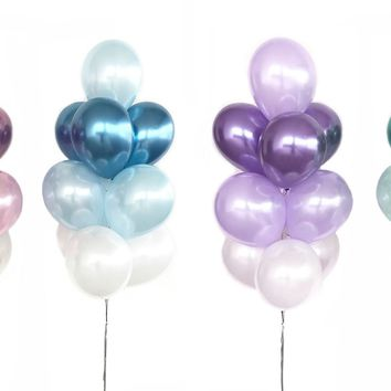 BIRTHDAY BALLOONS & BABY Shower Balloons Bouquet- Pink Party Balloons, Blue Balloons, Purple Balloons, Green Balloonss, Wedding Balloons