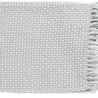 Tierney Traditional Woven Throw - Gray