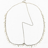 Delicate Teardrop Head Chain in Gold - Urban Outfitters