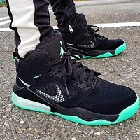Nike Air Jordan Mars 270 AJ Men Casual Running Sneakers Sport Shoes Black&Green