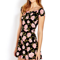 Darling Rose Skater Dress