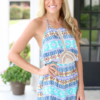 Mint to Be Romper