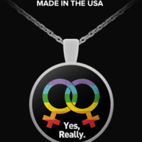 Limited Edition - Lesbian Necklace lesbian-necklace