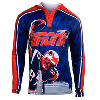 New England Patriots Gronkowski R. #87 NFL Polyester Player Hoody Tee