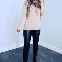 The Softest Sweater: Sand