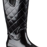 Sperry Top-Sider Pelican III Rain Boot BlackQuilted, Size 6M  Women's Shoes