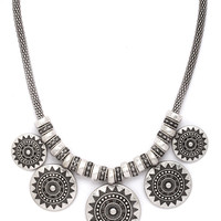 Medallion Statement Necklace | Forever 21 - 1000205705