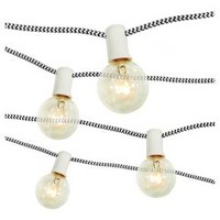 10Ct Braided Cord String Lights - Room Essentials™