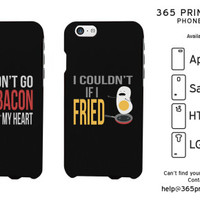 Funny Bacon and Egg Matching Phone Cases - 365 Printing Inc
