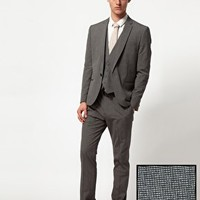 ASOS Slim Fit Suit in Grey at asos.com