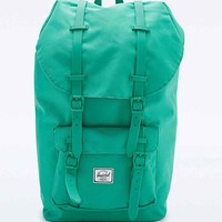 Herschel Supply co. Rubber Strap Little America Backpack in Green - Urban Outfitters
