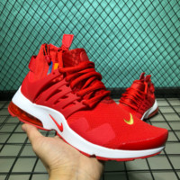 hcxx Nike Air Presto Net Hight Cup Causal Running Shoes Red