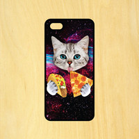 Taco Pizza Cat Phone Case iPhone 4 / 4s / 5 / 5s / 5c /6 / 6s /6+ Apple Samsung Galaxy S3 / S4 / S5 / S6