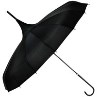 Restyle Gothic Witch Black Classic pagoda Parasol Waterproof Umbrella