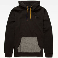 Lira Standard Mens Hoodie Black  In Sizes