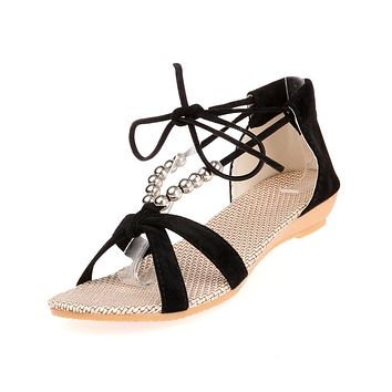 Rome style Wedge Heel Sandals Summer Shoes 3812