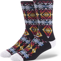 Stance Sunchild Black Crew Socks at Zumiez : PDP