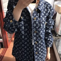 Louis Vuitton LV Monogram Jeans Jacket
