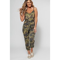 Will You Camover Jumpsuit (Camouflage)