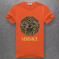 Versace Fashion Casual Short Sleeve Top Tee