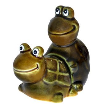 Faster! Faster! Salt & Pepper Shakers (Green)