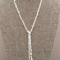 Freshwater Pearls Wrap Necklace